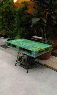 客製棧板工業風木桌
