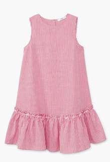 🚚 Mango Cotton striped dress