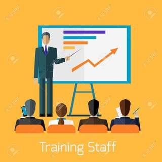 Train Your Staff & Company