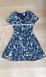 🚚 Lilypirates floral summer dress XS