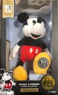 Mickey and Minnie Mouse 90th Anniversary Limited Edition Plush