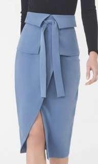 LAVISH ALICE belted corset skirt