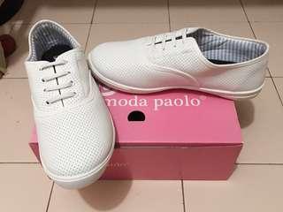 Sneaker (white) -24.5cm