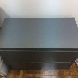*URGENT急放* 2-drawer file cabinets-lateral 雙櫃筒文件櫃
