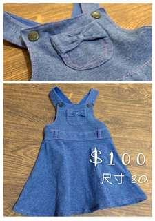 女童牛仔類裙裝 (可與其他湊3件免運)