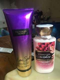 Victoria Secret Body Lotion dan Bath & Body Works