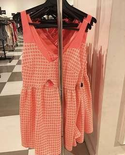 NEW with tag - stradivarius dress neon