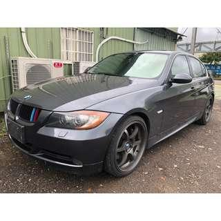 FB搜尋【桃園小翔】寶馬BMW335I 3.0L 2007年 全省最嚴格的售後服務!
