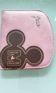🚚 QMouse Pinkish-Brown wallet