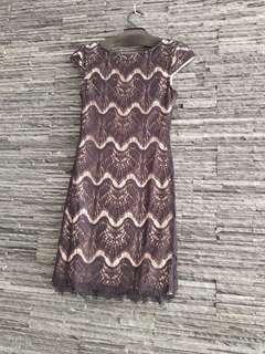 Nicholas black lace dress. Absolutely stunning. Size 8.