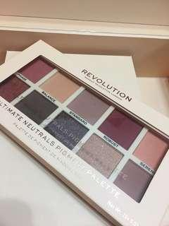 Makeup revolution- ultimate neutrals pigment palette