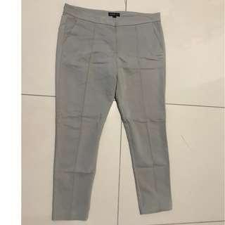 Mango Gray Work Trousers