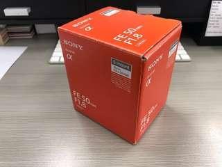 Sony FE 50mm f.1.8 E-mount Full Frame (w/ Hoya 42mm polarizing & MRC Nano UV Filter)