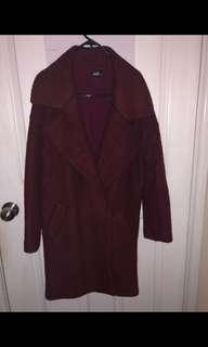 Dotti Burgandy Winter Coat