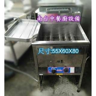 【南台中餐廚設備】*中古*落地型油炸機40L~另有賣煎台/西餐爐/各式冰箱/爐具