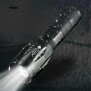 15000LM White Light Zoomable Torch