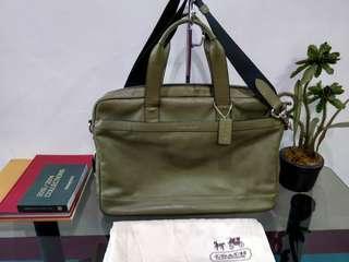 Coach Hudson messenger/briefcase bag Authentic
