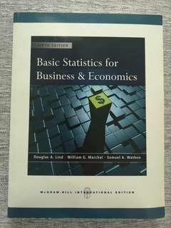 Basic Statistics for Business & Economics (6th Edition)
