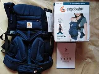 ERGOBABY carrier omni  cool air mesh(midnight blue)