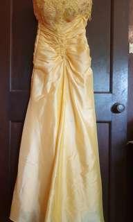 Beautiful Yellow Formal/bridesmaid dress