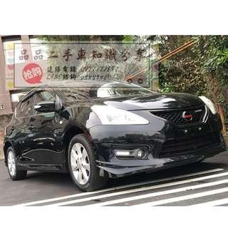 FB搜尋『品品二手車知識分享』百輛車庫任君挑選 2013年 日產 TIIDA 黑