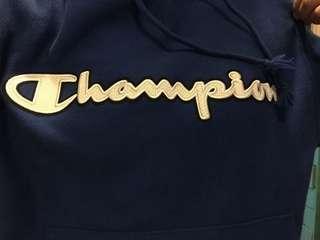 Champion reverse weave blue hoodie
