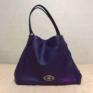 🚚 👜Coach Full Leather Hobo Bag