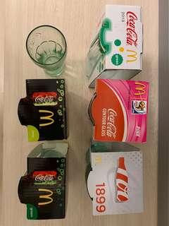 Coca Cola (Set of 6)🈹️珍藏可口可樂·玻璃杯