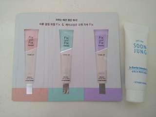 etude house primer&cream set