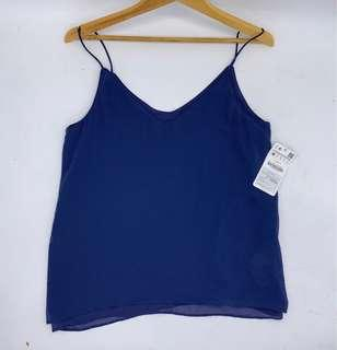 New with tag - tanktop zara chiffon silky