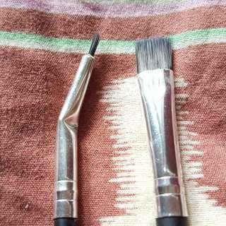 Coastal Scents Set Classic Synthetic Brush Bent Liner & Flat Liner