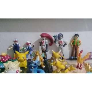 FREE SHIPPING - 49 PCs Pokemon Tomy Figures Collection for sale