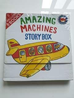 🚚 Amazing Machines Storybox 5 books