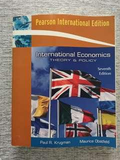 International Economics: Theory & Policy (7th Edition)