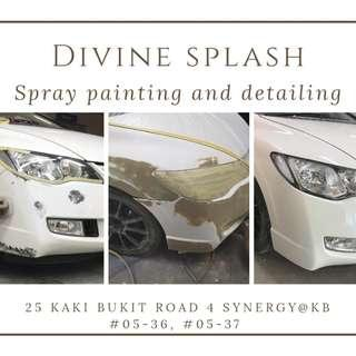 Car Spray Painting Service in Singapore