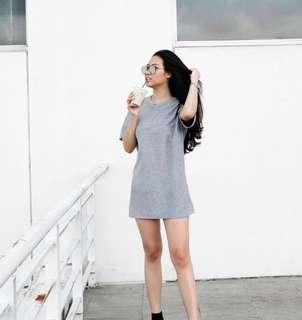 Zara top / mini dress