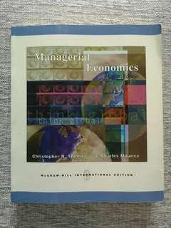 Managerial Economics (8th Edition)