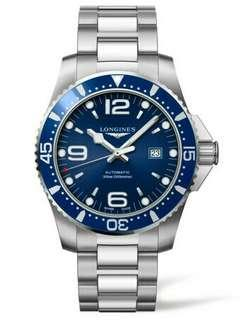 Lgs hydroconquest automatic blue dial