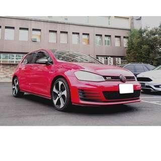FB搜尋『品品二手車知識分享』百輛車庫任君挑選 2015年 福斯 GTI 紅
