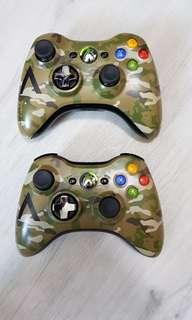 FIXED PRICE Original Limited Edition Camo 360 Wireless Controller - Refurbished