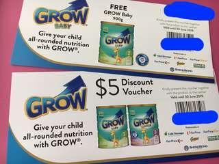 🚚 GROW Baby 900g