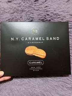 大🈹價日本超邪惡N.Y. CARAMEL SAND焦糖朱古力餅乾x8入🍪