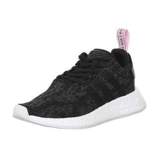 🚚 全新 Adidas NMD R2 黑色x粉紅 潮鞋 運動鞋