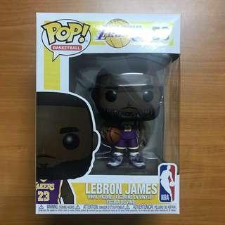 bcc1d9a3be4 Funko Pop  NBA L.A. Lakers - LeBron James (Purple Jersey)  Exclusive