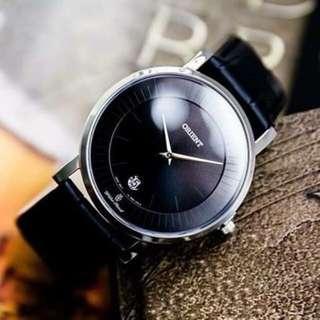 Chris`s『 奢華生活 』~東方錶 ORIENT 藍寶石抗磨損鏡面 真皮 米蘭錶帶 日本機芯 FGW01009B