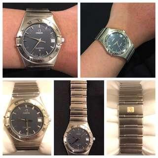 For Sale Preloved Omega Constellation not Rolex Tag Heuer
