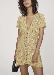 Faithful the Brand yellow dress