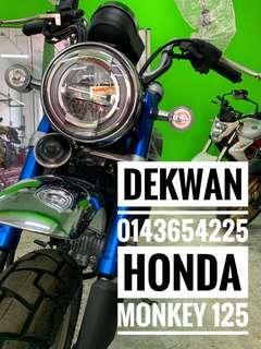 Honda Monkey 125 Apply ic & Slip Gaji 1 Bulan