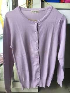 Cardigan candy soft purple
