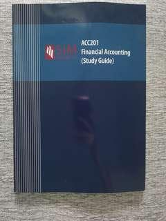 ACC201 Financial Accounting Study Guide (SIM)
